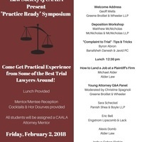 "Consumer Law Society ""Practice Ready"" Symposium"