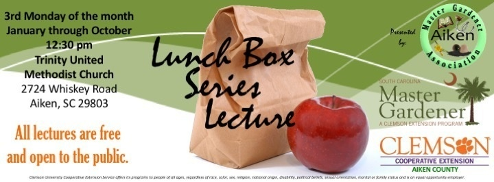 Lunch Box Lecture: Home Lawn & Garden Management Issues Affecting Water Quality