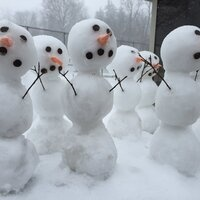 Snowman Left Behind