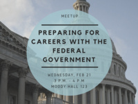Meetup: Preparing for a Career with the Federal Government