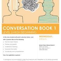 ESL Class Level 2-High Beginning - A Conversation Book 1 Communication Spotlight