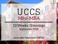 UCCS Mini-MBA