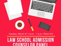 Law School Admissions Counselor Panel