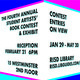 Reception for the 4th Annual Student Artists' Book Contest + Exhibit