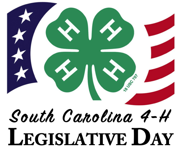 South Carolina 4 H Legislative Day Registration Clemson University