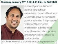 Dr. Amer Ahmed - Addressing Islamophobia: Dispelling Myths to Break Down Barriers