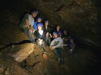 Caving Trip in Worley Caverns