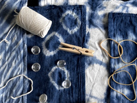 Shibori & Indigo Dye Workshop
