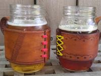 Leatherworking Class: Mason Jar Coozie