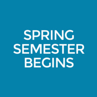 Spring Classes Begin