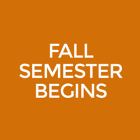 Fall Classes Begin