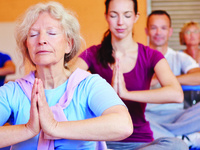 Kripalu Yoga: A CAU summer program led by Diane Fine