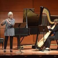 Kathryn Levy, flute & Helen Rifas, harp