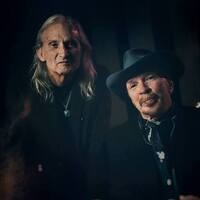 Dave Alvin and Jimmie Dale Gilmore at The Palms Playhouse