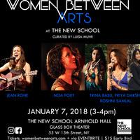 Women Between Arts | Jean Rohe / Noa Fort / Trina Basu, Priya Darshini, Roshni Samlal