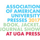 AAUP 2017 Book, Jacket and Journal Show at UGA Press