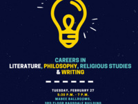 Careers in Literature, Philosophy, Religious Studies, and Writing