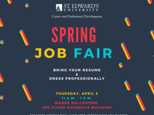 Spring Job Fair 2018