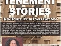2018 Solomon Lecture - Tenement Stories: New York's Jewish Lower East Side