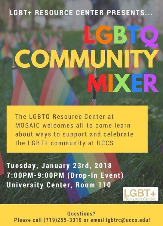 LGBTQ Community Mixer