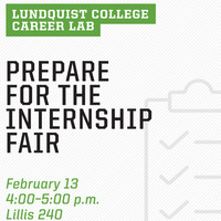 Career Lab: Internship Fair Prep