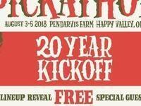 Pickathon 20 Year Kickoff Party