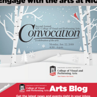 NIU College of Visual and Performing Arts 2nd Annual Convocation