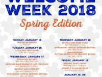 Spring Welcome Week