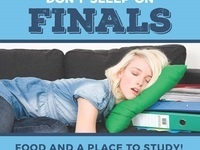 Don't Sleep on Finals