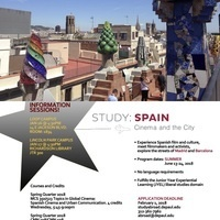 Study: Spain Cinema and the City Information Sessions (Loop Campus)