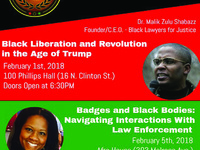 "The Justice and Liberation Series: ""Badges and Black Bodies: Navigating Interactions with Law Enforcement"""
