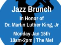 Special Event   MLK Jazz Brunch