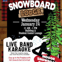 Winter Snowboard Lounge Party
