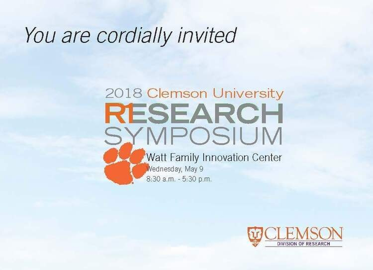 3rd Annual Clemson University Research Symposium