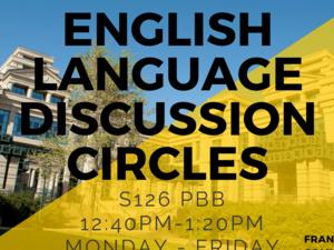 English Language Discussion Circles