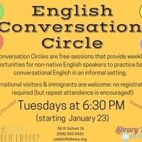 Conversation Circle/Circulo de Conversas em Inglês