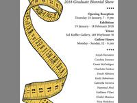 Textiles Graduate Biennial | Opening Reception