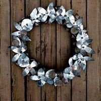 Scrap Metal Wreath