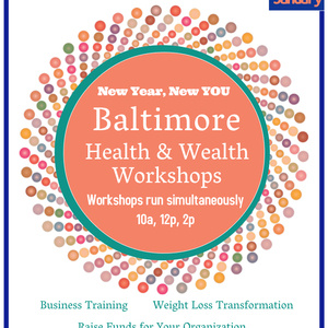 EDAC New Year, New You Baltimore Health & Wealth Workshops