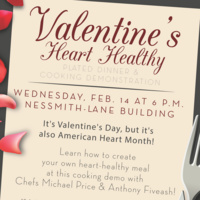 Valentine's Heart Healthy Cooking Class