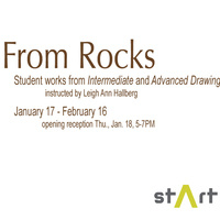 From Rocks: Works from Intermediate and Advanced Drawing
