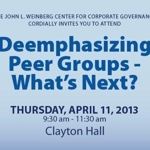 John L. Weinberg Center for Corporate Governance