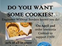 Engineers Without Borders Insomnia Cookies Fundraiser