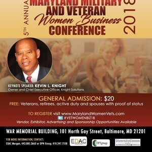 Maryland Military & Veteran Women Business Conference 2018