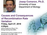 Causes and Consequences of Recombination Rate Variation