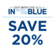 New Year, New Blue Sale