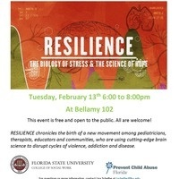 "Screening of ""Resilience: The Biology of Stress & the Science of Hope"""