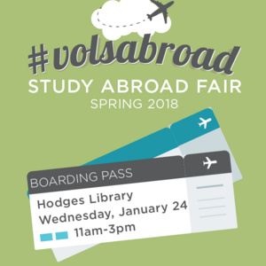 Spring Study Abroad Fair