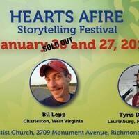 Hearts Afire Storytelling Festival