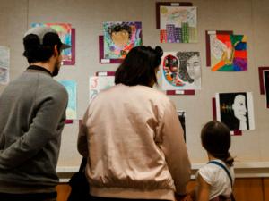 Jazz In The Schools 2018 Gallery Viewing